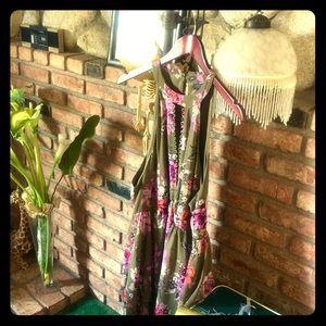 TORRID CHIFFON FLORAL DRESS